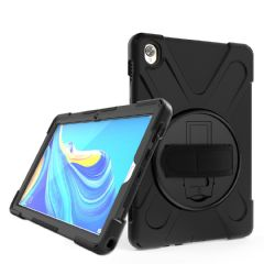 Rugged case for the with Huawei MediaPad M6 10.8 with hand/shoulder strap and kick stand
